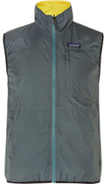 Patagonia Crankset Reversible Recycled Shell Gilet - Teal