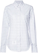 Thom Browne checked shirt - women - Cotton - 38