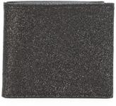Maison Margiela glitter billfold wallet - men - Cotton/Calf Leather/Polyester/Polyurethane - One Size