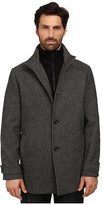 Kenneth Cole New York Wool Tweed Minimal Coat