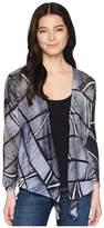 Nic+Zoe Petite High Tide Four-Way Cardy Women's Sweater