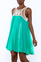 Entro Crochet Tie-Dye Dress