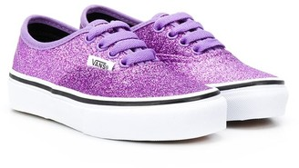 Vans Kids Glittery Lace Up Sneakers