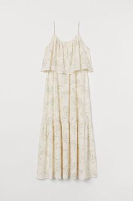 H&M MAMA Long nursing dress
