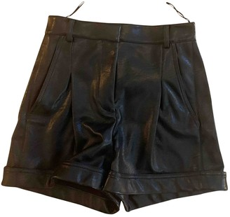 Stella McCartney Black Cloth Shorts