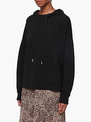 AllSaints Etienne Cotton Oversized Hoodie