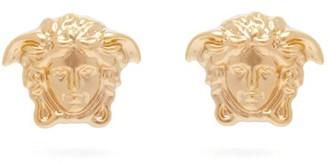Versace Medusa Stud Earrings - Gold