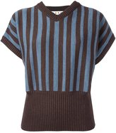 Marni striped short sleeve jumper