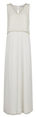 Dorothy Perkins Womens Showcase White Bridal 'Graclyn' Maxi Dress, White