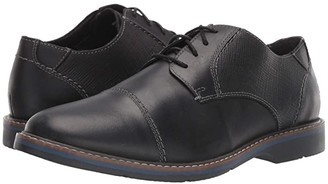 Nunn Bush Pasadena Cap Toe Oxford (Black) Men's Shoes