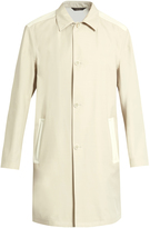 Calvin Klein Collection Bi-colour wool-blend coat