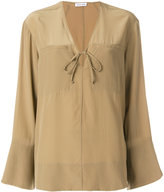 Tomas Maier flared blouse