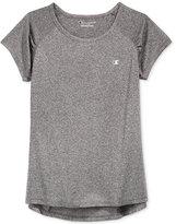 Champion Girls' High-Low-Hem T-Shirt