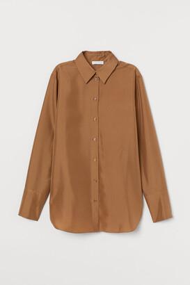 H&M Silk shirt