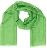 Bajra Cashmere Raw-Edge Scarf w/ Tags