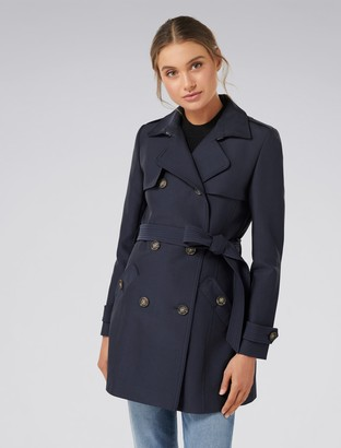 Forever New Aaliyah Trench Coat - Navy - 4