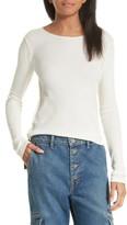 Vince Women's Thermal Pima Cotton Tee