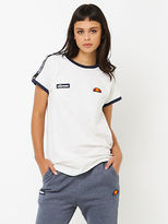 Ellesse New Womens Teresa T Shirt In White Tops & T Shirts Logo