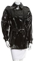 Dolce & Gabbana Patent Leather Double-Breasted Jacket w/ Tags