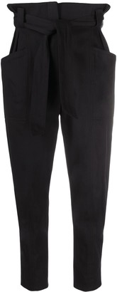 IRO Belted Tapered Trousers