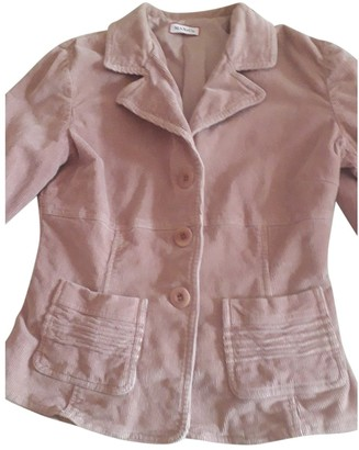 Max & Co. Pink Velvet Jacket for Women