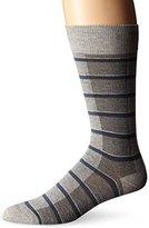 HUGO BOSS Men's Rs Design Color Block Striped Crew Socks