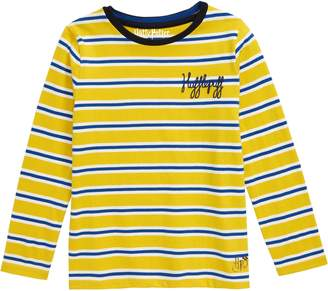 Boden Mini Harry Potter Hogwarts House Breton Stripe T-Shirt
