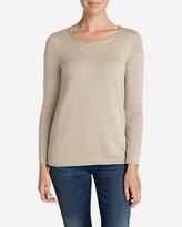 Eddie Bauer Women's Sweatshirt Sweater - Solid