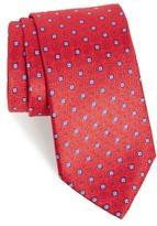 Armani Collezioni Men's Medallion Silk Jacquard Tie