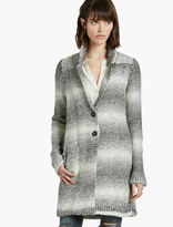 Lucky Brand Ombre Car Coat