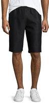 Helmut Lang Scuba Mesh Sweat Shorts, Black