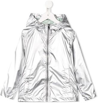 Ciesse Piumini Junior Metallic Hooded Raincoat