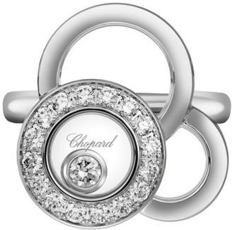 Chopard Happy Dreams Diamond & 18K White Gold Ring