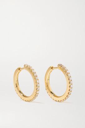 OLE LYNGGAARD COPENHAGEN Love Band Small 18-karat Gold Diamond Hoop Earrings - one size