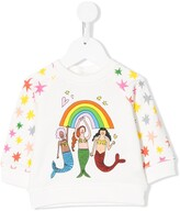 Stella McCartney mermaid print sweatshirt