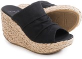 Blowfish Drapey Wedge Sandals (For Women)