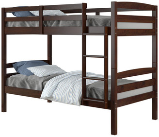 Donco Kids Devon Bunk Bed, Twin Over Twin