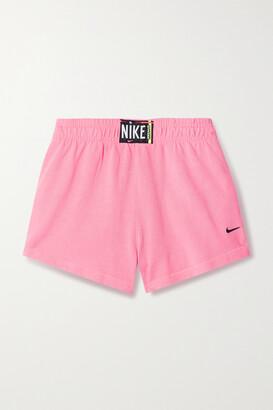 Nike Cotton-jersey Shorts