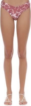 WeWoreWhat Delilah Marble Print Bikini Bottoms