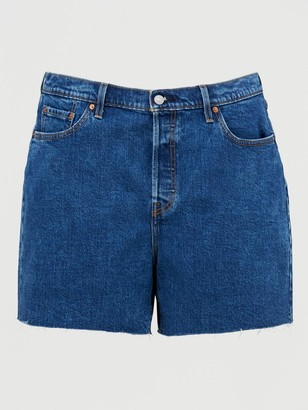 Levi's Plus 501 Original Shorts - Blue