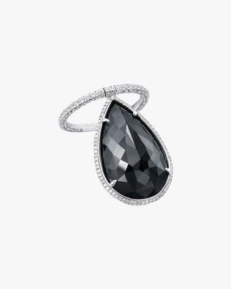Nina Runsdorf Briolette Diamond Flip Ring