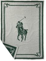 Ralph Lauren Signature Pony Throw Blanket