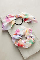 Anthropologie Watercolor Pony Holder Set
