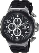 Invicta Men's 'I-Force' Quartz Stainless Steel and Silicone Casual Watch, Color: (Model: 17169)