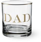 """Williams-Sonoma Williams Sonoma Gold Monogram """"Dad"""" Double Old-Fashioned"""