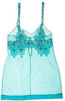 La Perla Paisley Chemise Mini Dress w/ Tags