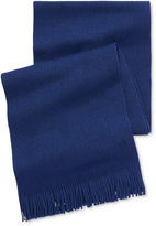 HUGO BOSS Men's Solid Scarf