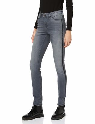 Opus Women's Elma Glitter Stripe Slim Jeans