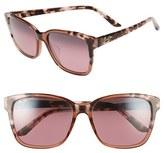 Maui Jim Women's 'Moonbow' 57Mm Sunglasses - Marsala Tokyo Tortoise/ Bronze