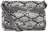 Harrods Micro Mini Snake Print Cross Body Bag